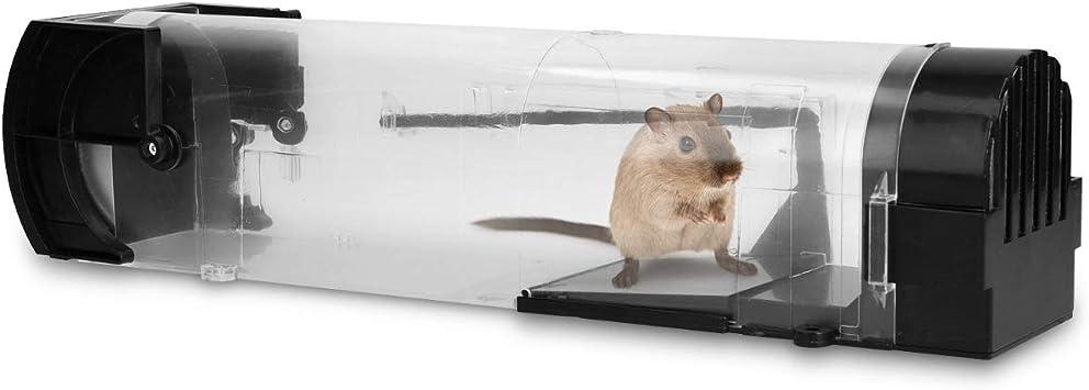 Navaris Trampa para ratón - Trampa para Ratones - Ratonera de ...