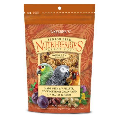 LAFEBER'S Senior Bird Nutri-Berries for Parrots 10 oz ()