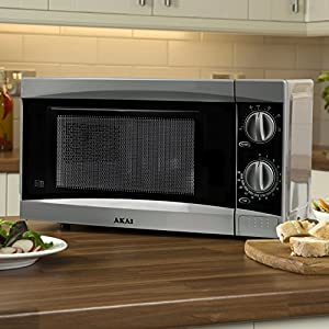 Akai A24002 Manual Solo Microwave - but customer services was really good  and replaced it promptly