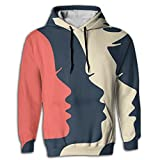 Men's Hoodie Graphic Pullover Kangaroo Pocket Women's March On Washington Young and Reckless
