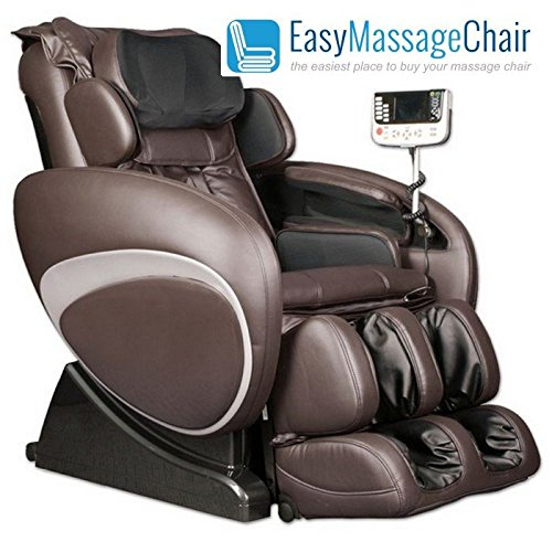 Osaki OS 4000T Executive ZERO GRAVITY Massage Chair w/ Foot Rollers Brown