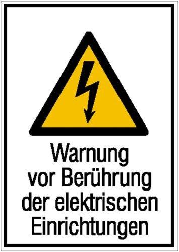 2148. combinados de advertencia Cartel Alerta Antes de tocar ...