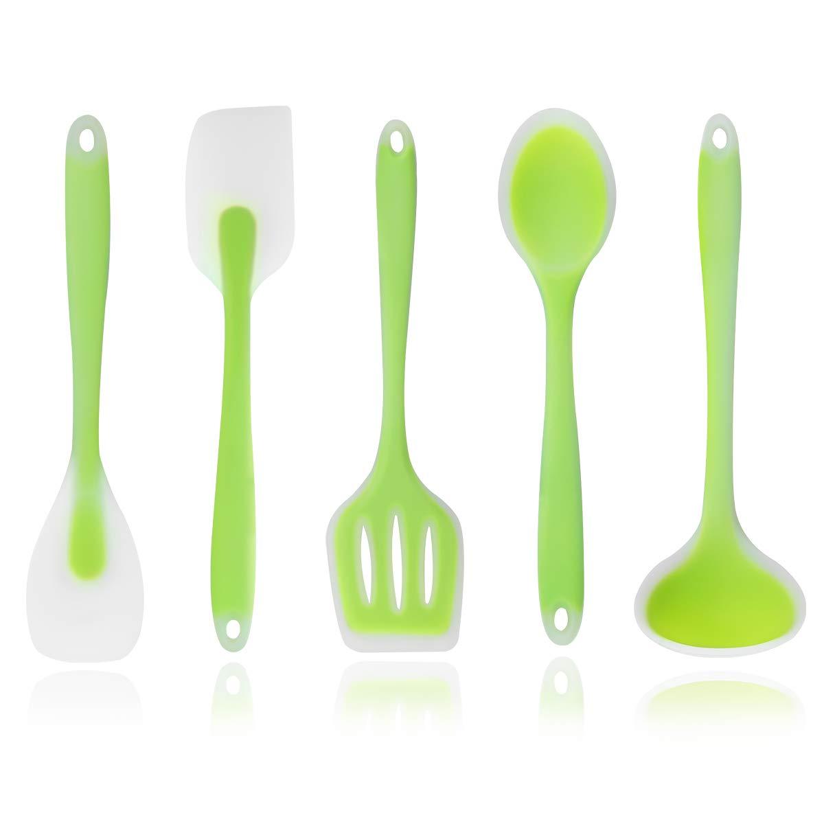 Zubita Juego de Utensilios de Cocina, 5 Utensilios de Cocina de Silicona product image
