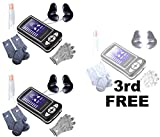 Gift Wellness - Buy Two Get One Free - Give your friends and family Medicomat-6J Wellness device, a precious gift of health and wellness - Laser Pulse Acupuncture Massager Therapy Medicomat-6J