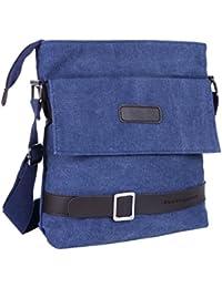 Vintage Retro Canvas Messenger Bag Cross-Body Bag Small Bag Purse