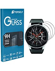 TERSELY Screen Protector for Samsung Galaxy Watch, (3 Pack) Samsung Galaxy Watch 9H Hardness Tempered Glass Screen Protector Saver Film Guard for Samsung Galaxy Smart Watch
