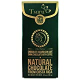 Tsuru Costa Rica 70% Dark Chocolate bar with coffee Olomsa, 3.5 oz