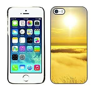 Cubierta de la caja de protección la piel dura para el Apple iPhone 5 / 5S - Funny Zombie Propaganda Poster