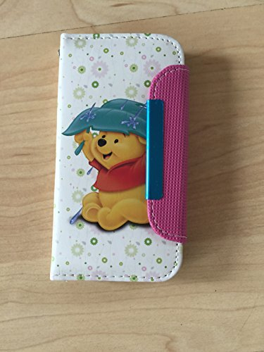 Winnie The Pooh Pu Leather Case Wallet For iPhone 5/5s Ship From NY 7 (The Wallet Winnie Pooh)