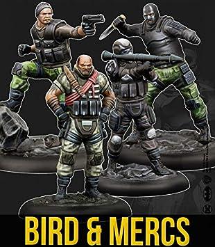 Knight Models Juego de Mesa - Miniaturas Resina DC Comics Superheroe - Batman Bird and Mercs: Amazon.es: Juguetes y juegos