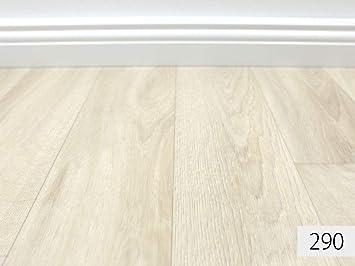 PVC-Belag verf/ügbar in der Breite 400 cm /& in der L/änge 350 cm PVC Vinyl-Bodenbelag in Dielen Optik XL Oak CV-Belag in Eiche-Optik CV-Boden wird in ben/ötigter Gr/ö/ße als Meterware geliefert