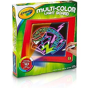Amazon Com Crayola Multi Color Light Board Art Tools
