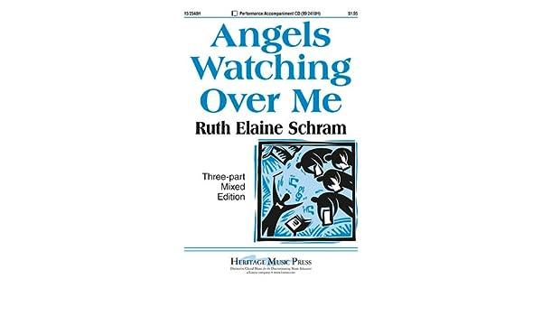 Angels Watching Over Me Ruth Elaine Schram 9781429106603 Amazon