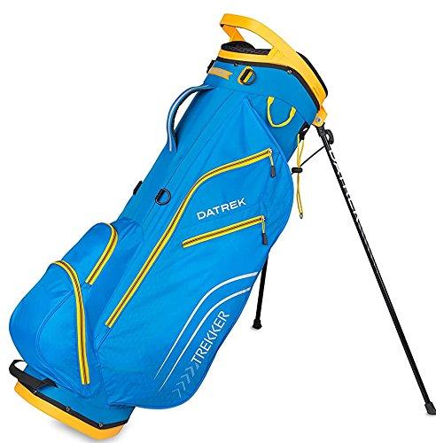 Datrek Golf Trekker Ultra Lite Stand Bag (Electric Blue/Yellow)
