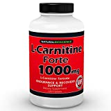 L-Carnitine Tartrate – 1000mg – 120 Double Potency Tablets – Provides Support for Fat Metabolism, Healthy Energy Levels, Athletic Performance, Exercise Endurance, Workout Capacity, Post-Exercise Recovery, Healthy Heart and Muscles - 100% Pure - GMO-Free - GMP Certified - Made in USA
