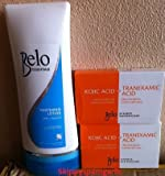 Belo Essentials Whitening Lotion with SPF 30 200ML and Belo Kojic Acid +Tranexamic Acid Whitening Soap 65g 2pcs