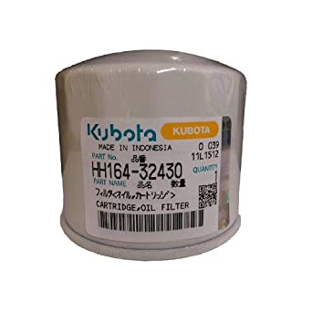 HH1C0-32430 Oil Filter for Kubota 70000-74035 HH164-32420 4 HH164-32430