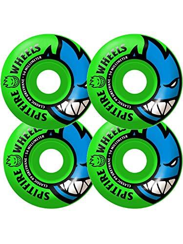 (Spitfire Bighead 99du (Neon Green) Wheels-54 mm)