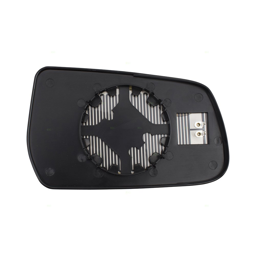 Drivers Side View Mirror Glass /& Base Heated Replacement for 10-14 Chevrolet Equinox GMC Terrain 20873491 GM1324126