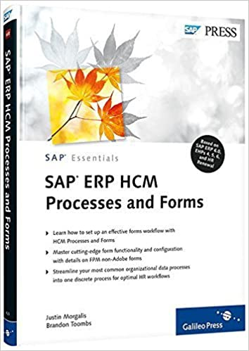 SAP ERP HCM Processes and Forms 1st edition by Morgalis