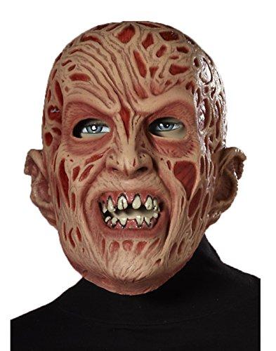Forum Freddy Adult Vinyl Mask Adult One (Adult Freddy Vinyl Mask)