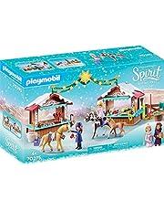Playmobil Dreamworks Spirit 70395 Kerstmis In Miradero, Vanaf 4 Jaar, Meerkleurig, 14 x 8,5 x 13,5 cm
