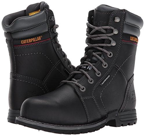 Caterpillar Women's Echo Waterproof Steel Toe Industrial and Construction Shoe, Black, 9 W US by Caterpillar (Image #6)