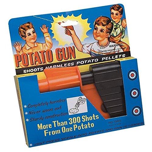 Classic Vintage Style Toy 6 Inch Potato Gun