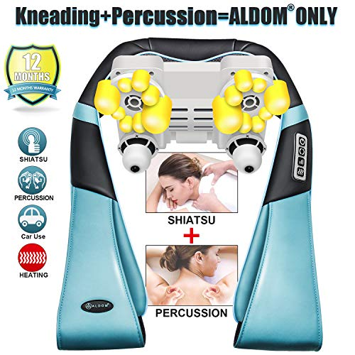 Neck and Back Massager with Deep Heat Kneading ...