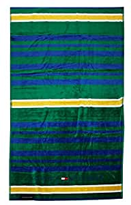 Toalla Playa o Piscina Tommy Hilfiger 100% Esponja disponible de puro algodón cm 90 x