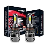 FANTELI 9005/HB3 LED Headlight Bulbs All-in-One Conversion High Beam Kit - 72W 8000LM 6000K Xenon HID Cool White 9145/9140/H10 Fog Driving Light Lamp Replacments - 5 Years Warranty