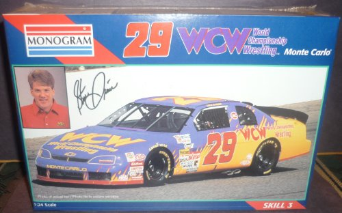 Monte Carlo Model Kit - Steve Grissom #29 Wcw Monte Carlo (1996)Model Kit