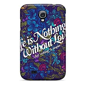 Shock-Absorbing Hard Phone Case For Samsung Galaxy S4 (yas18917INAP) Provide Private Custom Nice Muse Series