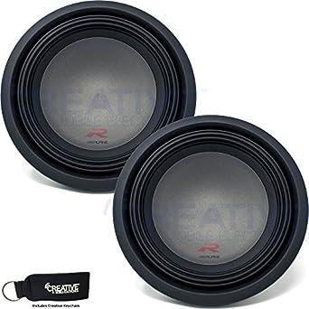 Amazon.com: Two Alpine R-W12D2 R-Series 12-Inch Dual 2 Ohm ...