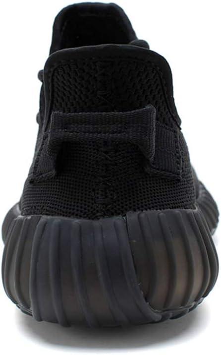 Bex Chaussures de Noix de Coco Respirants antidérapante, Respirant, léger, Chaussures de Loisirs Chaussures de Sport légère Black
