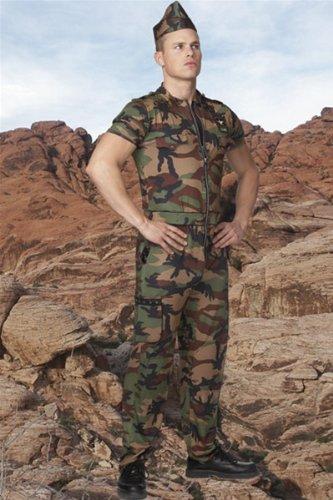 G I Guy Costumes (G.I. Army Guy Costume - L/XL)