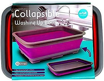 Orbit Innovations Fregadero Plegable – Ideal para Camping (los Colores Pueden Variar).