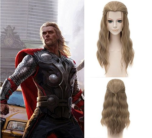 Thor Cosplay Hairstyle Wig