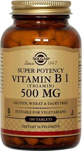 Solgar Vitamin Thiamin 500 Tablets product image