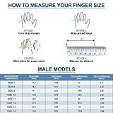 Cabepow Silicone Wedding Ring for Men, 4 Packs