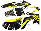 PCC MOTOR ROCKSTAR GRAPHICS DECAL STICKERS FOR