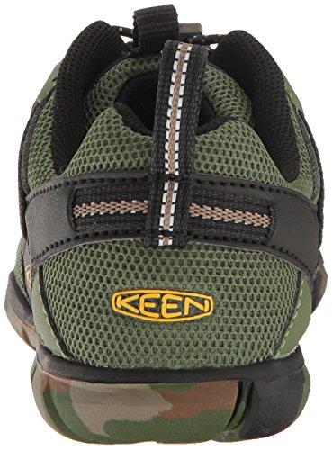 Keen Chandler CNX, Zapatillas de Senderismo Unisex Niños Grün (Crushed Bronze Green)