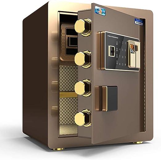 Convencionales Cajas Fuertes Caja Fuerte electrónica for el hogar con Caja Mediana Huella Digital Caja Fuerte pequeña for el hogar casillero de Seguridad de Oficina Cajas Fuertes: Amazon.es: Hogar