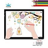 Huion A3 Light Box Tracing Light Pad Drawing Light Board for Artist Animation Artcraft Design with Metal Paper Clip
