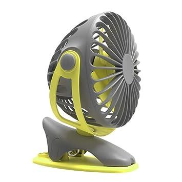 Hplights Mini Ventilador Clip Ventilador 4000mAh Escritorio ...