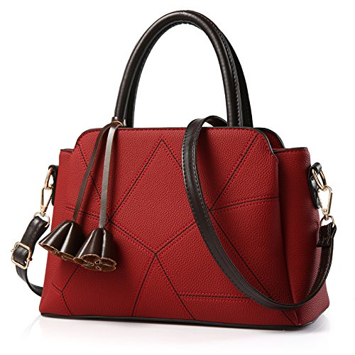 match Cross Diagonal Claret All Women's Shoulder Bags Korean Meoaeo xq7AII