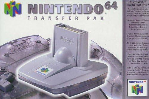 Game Boy Transfer Pak - Best Nintendo 64 Accessories