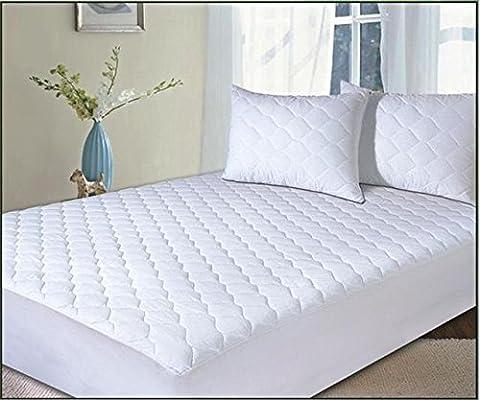 Classic Linen Protector de colchón antialergénico - acolchado de ...