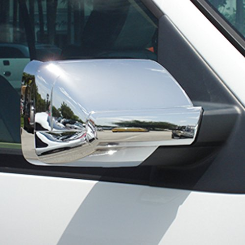E-Autogrilles Triple Chrome Plated ABS Mirror Cover for - Expedition Chrome