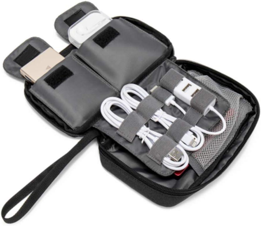 Organizador de Cables para el hogar Unicornio Lindo Niños Diseño Organizador electrónico Pequeño para Varios Cables USB Cargador de Auriculares Bolsa de Oficina de Viaje Organizador de Cables